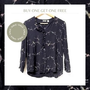 hinge by anthro Button Down Blouse